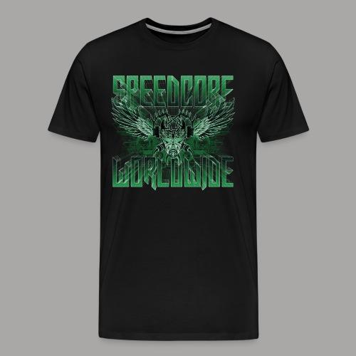 Mattia Travaglini - SCWW Green 3D - Männer Premium T-Shirt