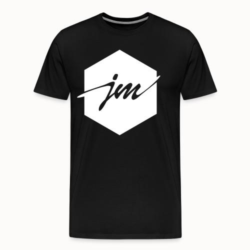 JMclothing | Blank White - Premium-T-shirt herr