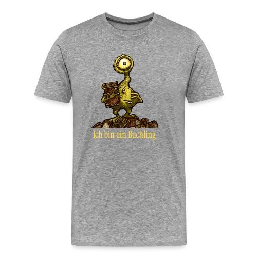 Ich bin ein Buchling - Männer Premium T-Shirt