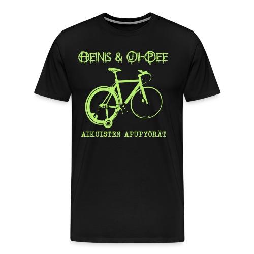 Aikuisten apupyörät - Miesten premium t-paita