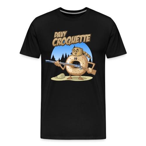 Davy croquette - Männer Premium T-Shirt