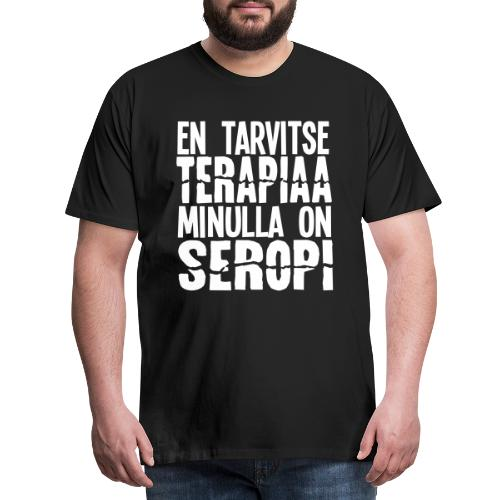 seropiterapiaa3 - Miesten premium t-paita