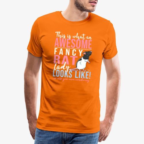 Fancyrat Awesome II - Miesten premium t-paita