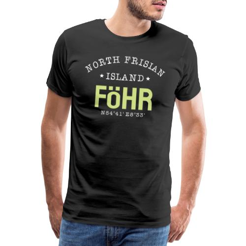 FÖHR Nordfriesische Insel Föhr Nordsee Föhr Watt - Männer Premium T-Shirt