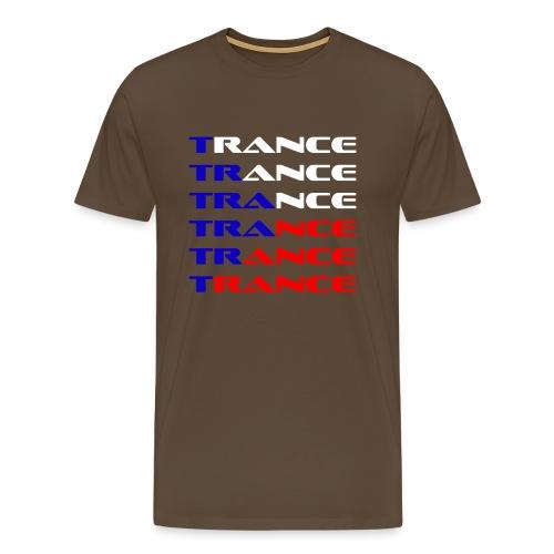 Trance Tjeckien - Premium-T-shirt herr