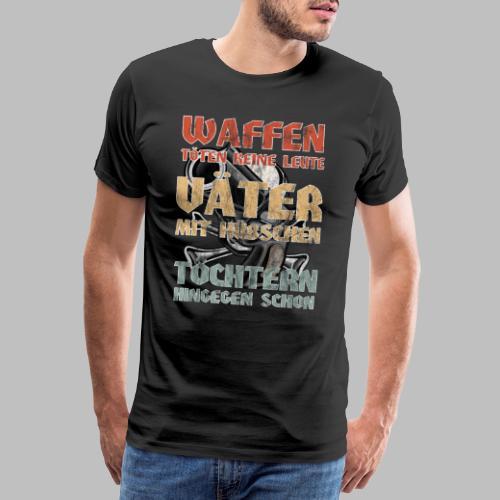 Väter mit hübschen Töchtern - Männer Premium T-Shirt
