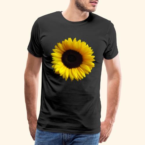 Sonnenblume, Sonnenblumen, Blume, Blüte, floral - Männer Premium T-Shirt