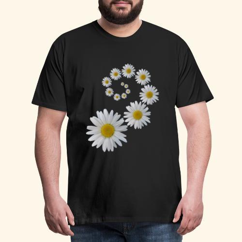 Margeriten Blume, Blumen, Blüte, floral, blumig - Männer Premium T-Shirt