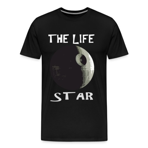 THE LIFE STAR - Mannen Premium T-shirt