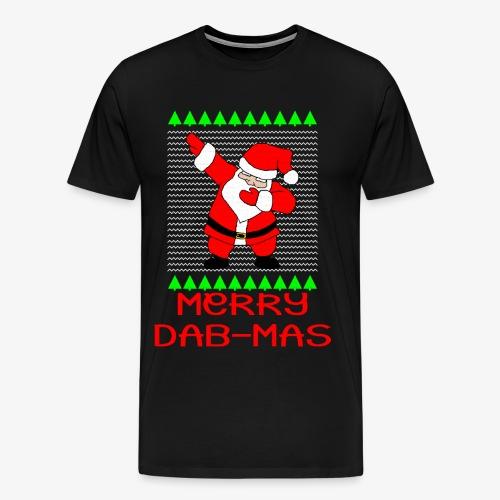 Merry Dab-Mas Ugly Xmas - Männer Premium T-Shirt