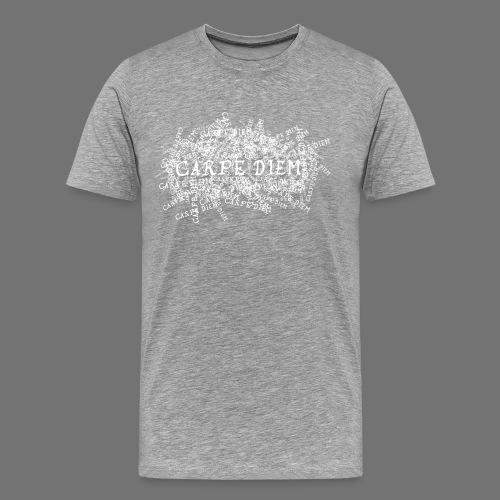 carpe diem (biały) - Koszulka męska Premium
