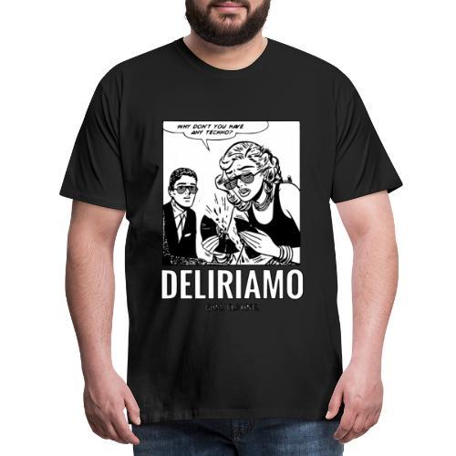 Whay Don't You Have Any Techno Vinyl? - Maglietta Premium da uomo