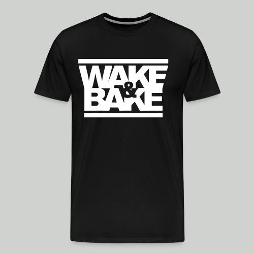 Wake and bake - Men's Premium T-Shirt