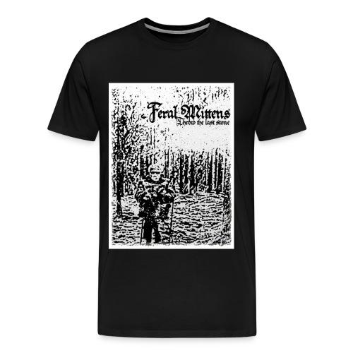 Throw the last stone - Herre premium T-shirt