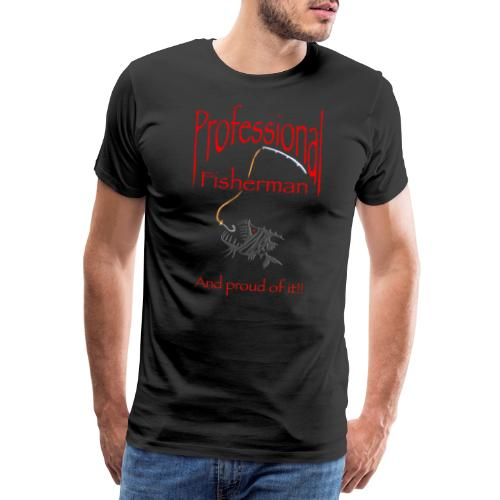 Pro Fisherman - Miesten premium t-paita