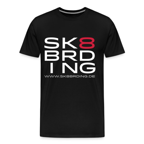 SK8BRDING Germany Logo 20 - Männer Premium T-Shirt