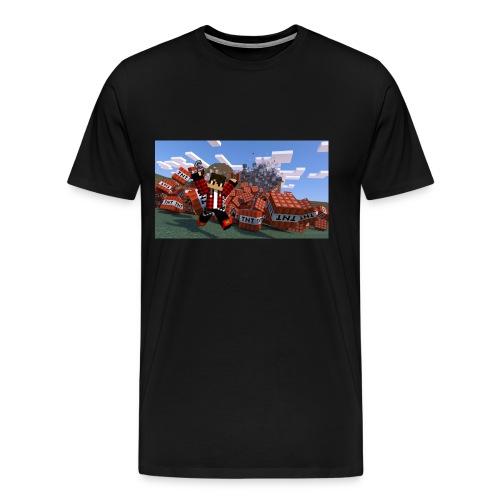 novaskin wallpaper 6 png - T-shirt Premium Homme