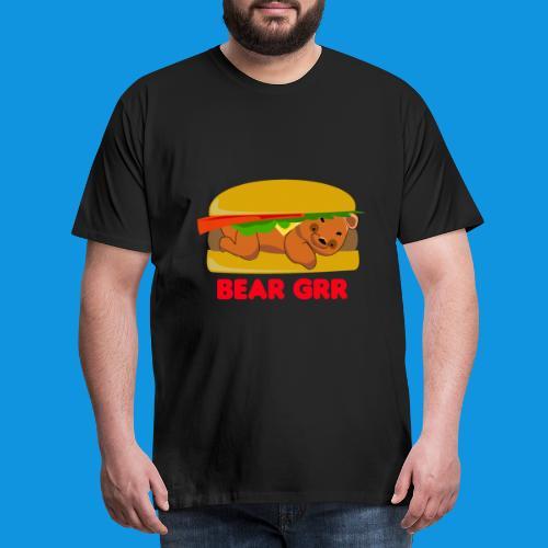 Bear Grr - Men's Premium T-Shirt