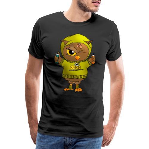 Eule KARL - Eulenclique - Männer Premium T-Shirt