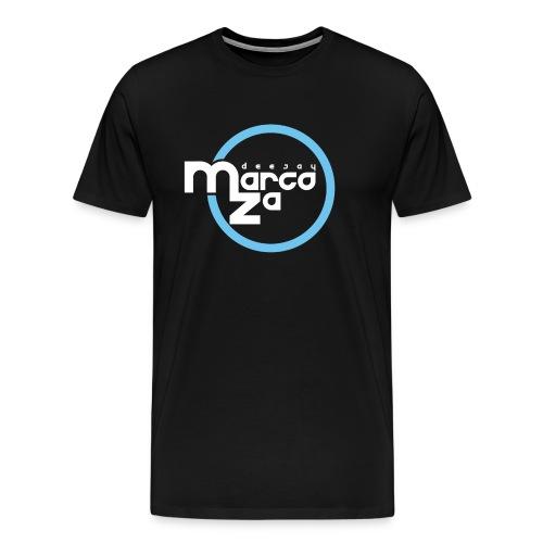 Logo White - DJ MARCOZA - Männer Premium T-Shirt