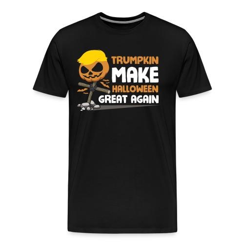 Trumpkin Make Halloween Great Again - Men's Premium T-Shirt