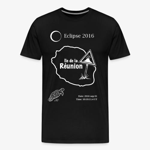 Eclipse 2016 Reunion - Mannen Premium T-shirt