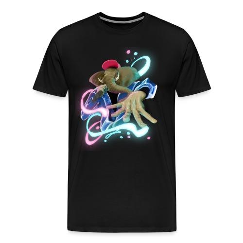 eleswag - Camiseta premium hombre