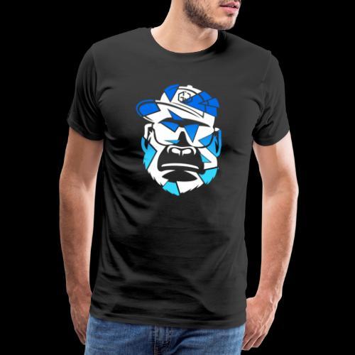 Apez Blue - Männer Premium T-Shirt