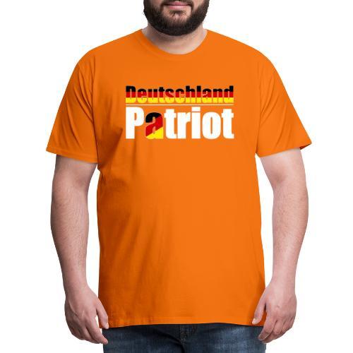 Deutschland - Patriot - Männer Premium T-Shirt