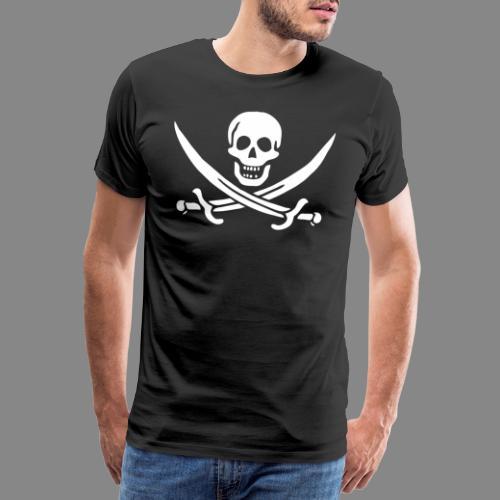 Jack Rackham Flag - T-shirt Premium Homme