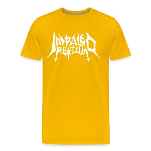 Impaled Rektum -logo shirt - Miesten premium t-paita