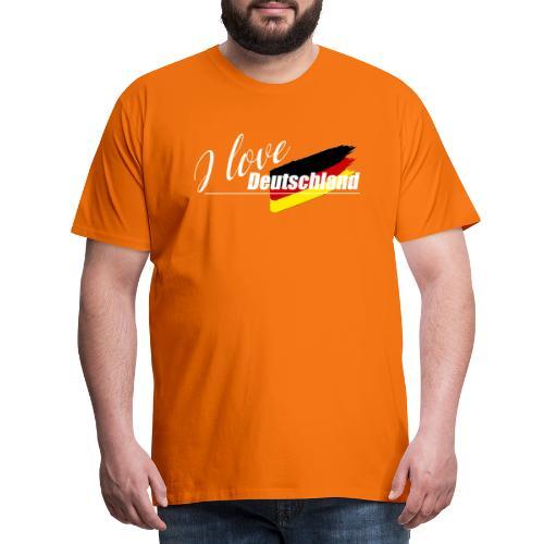 I love Deutschland - Männer Premium T-Shirt