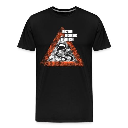 Ekte, norsk råner - AUTONAUT.com - Premium T-skjorte for menn