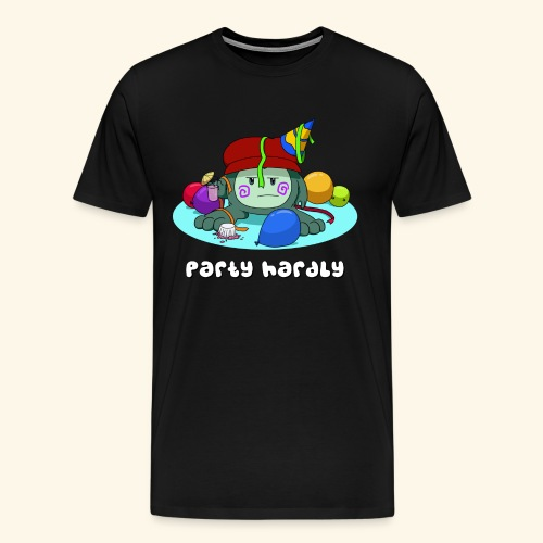 party hardly - Men's Premium T-Shirt