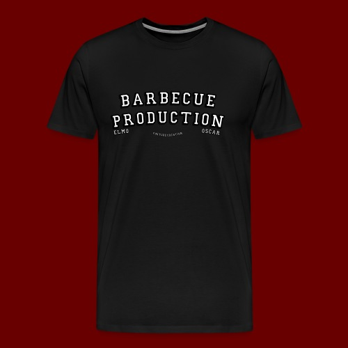 ELMO- BARBECUEPRODUCTION YOUTUBE CRETION - T-shirt Premium Homme