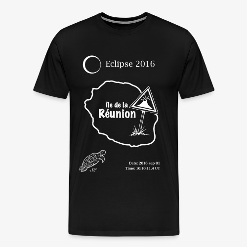 Eclipse 2016 Reunion - Mannen Premium T-shirt