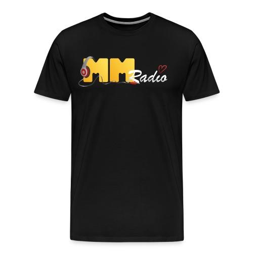 mmradio t-shirt herre - Herre premium T-shirt