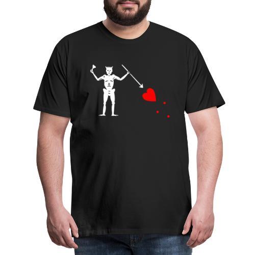 Edward Teach Flag - T-shirt Premium Homme