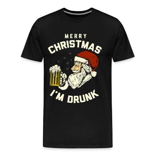 MERRY CHRISMAST I'm Drunk - Men's Premium T-Shirt