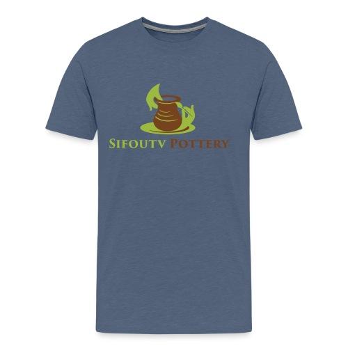 Sifoutv Pottery - Men's Premium T-Shirt