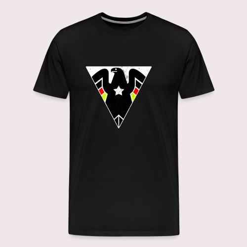 ALMAN WEAR LOGO ADLER DEUTSCHLAND DEUTSCHER - Männer Premium T-Shirt