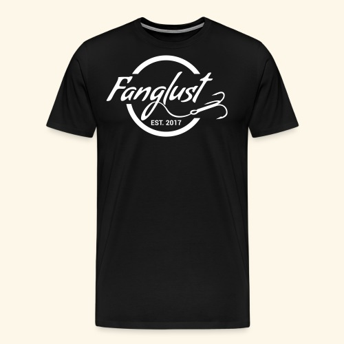 Fanglust Logo Kreis - Männer Premium T-Shirt