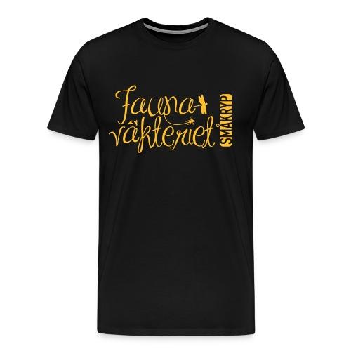 FV förenklad gul - Premium-T-shirt herr
