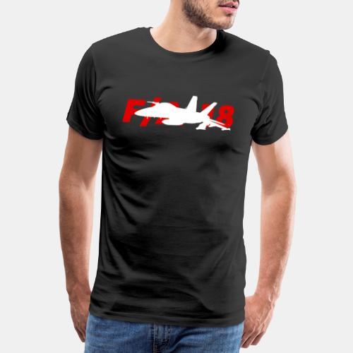 F/A-18 Super Hornet | F 18 | F18 | F/A18 | Hornet - Men's Premium T-Shirt