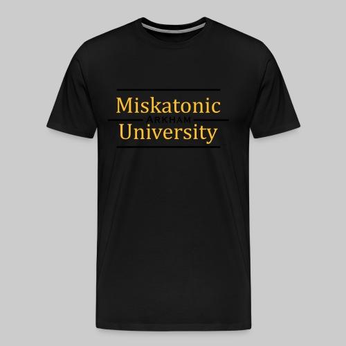 MJKv1: Miskatonic University - Arkham - Men's Premium T-Shirt