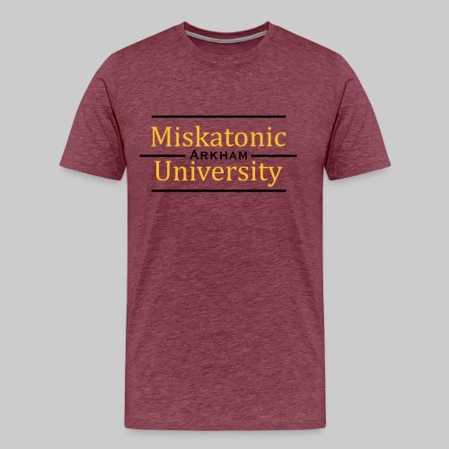 MJKv1: Miskatonic University - Arkham - Männer Premium T-Shirt