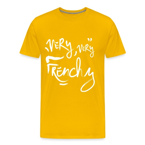 very very frenchy png - T-shirt Premium Homme
