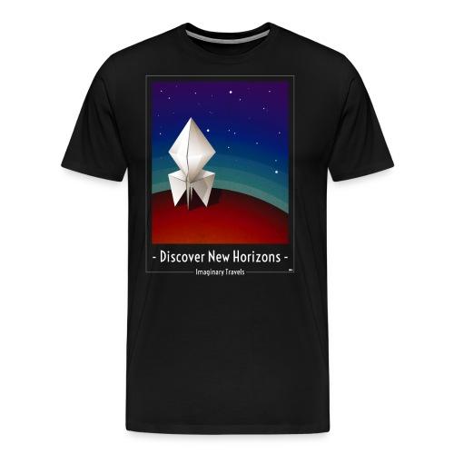 Travel by Paper Rocket - Men's Premium T-Shirt