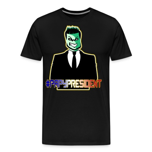 papycostumespreadtourjaune png - T-shirt Premium Homme