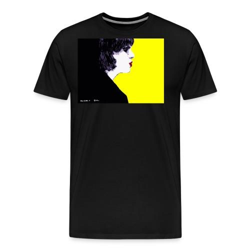 pazzogiallo by lucagiordana© - Maglietta Premium da uomo